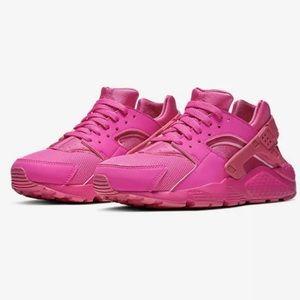 Nike Huarache Laser Fuchsia Grade-School Girls 3.5